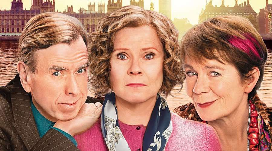 Finding Your Feet stars Timothy Spall, Imelda Staunton and Celia Imrie.