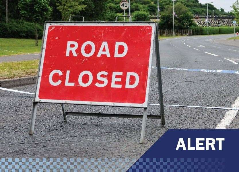 A stretch of the A17 is closed. (21933185)