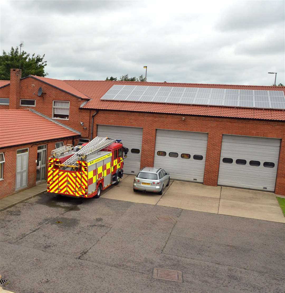 Spalding Fire Station. Photo by Tim Wilson. SG080617-108TW. (2188832)