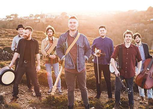 Sam Kelly and The Lost Boys play Spalding on March 2.