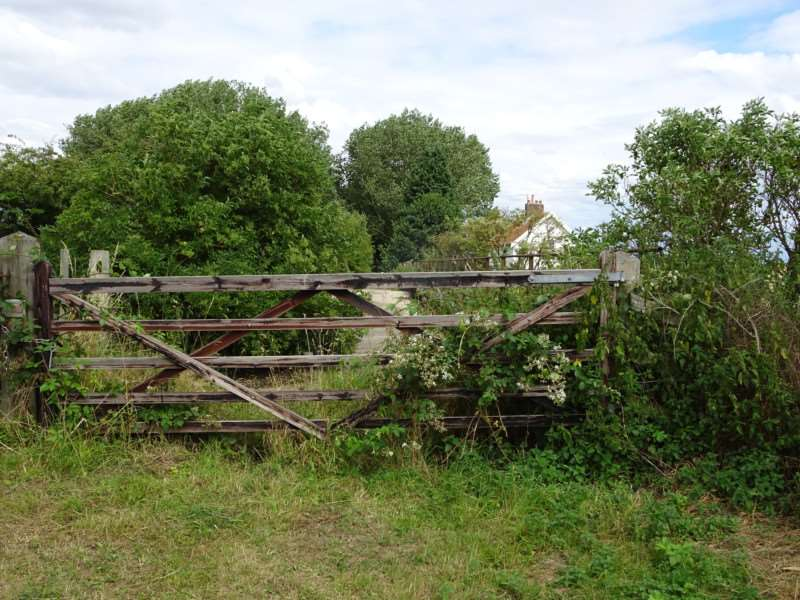 Glimpses of the area's railway history can still be spotted, including these crossing gates at Willow Tree Fen.