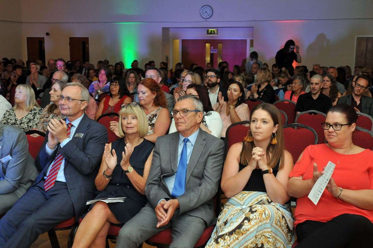 That's me, back right, at the Education Awards! (13500686)