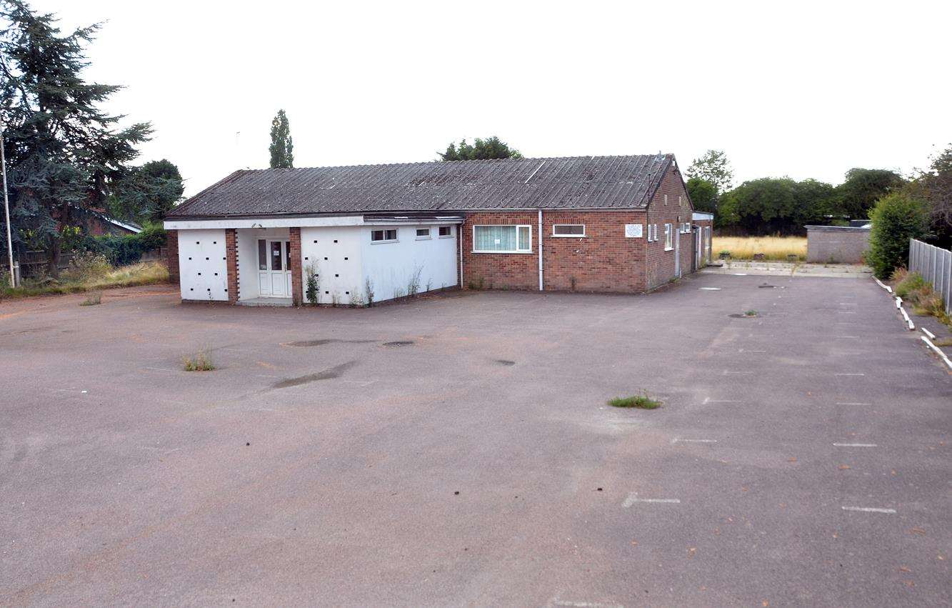 Donington's closed Royal British Legion Social Club.