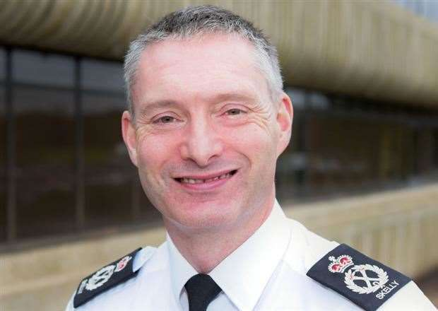Bill Skelly, Chief Constable of Lincolnshire Police, is to consider making a bid for cash to fund knife crime prevention activities in south Lincolnshire. Photo supplied. (9037291)