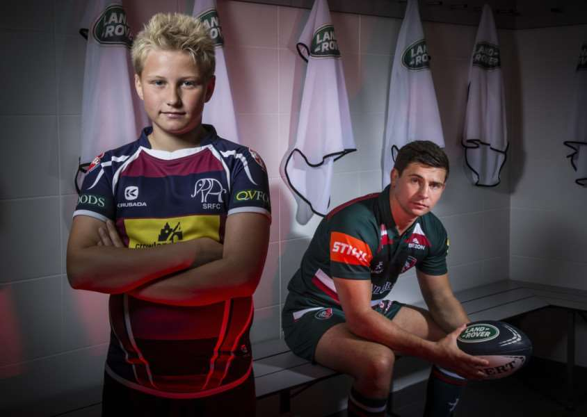 Will Stevenson and Ben Youngs