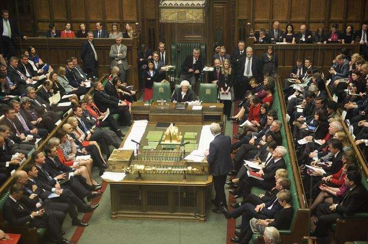 MPs have voted to abandon the House of Commons