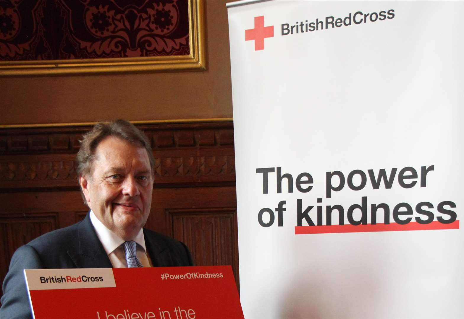 MP Hayes shows support for disasters emergency charity