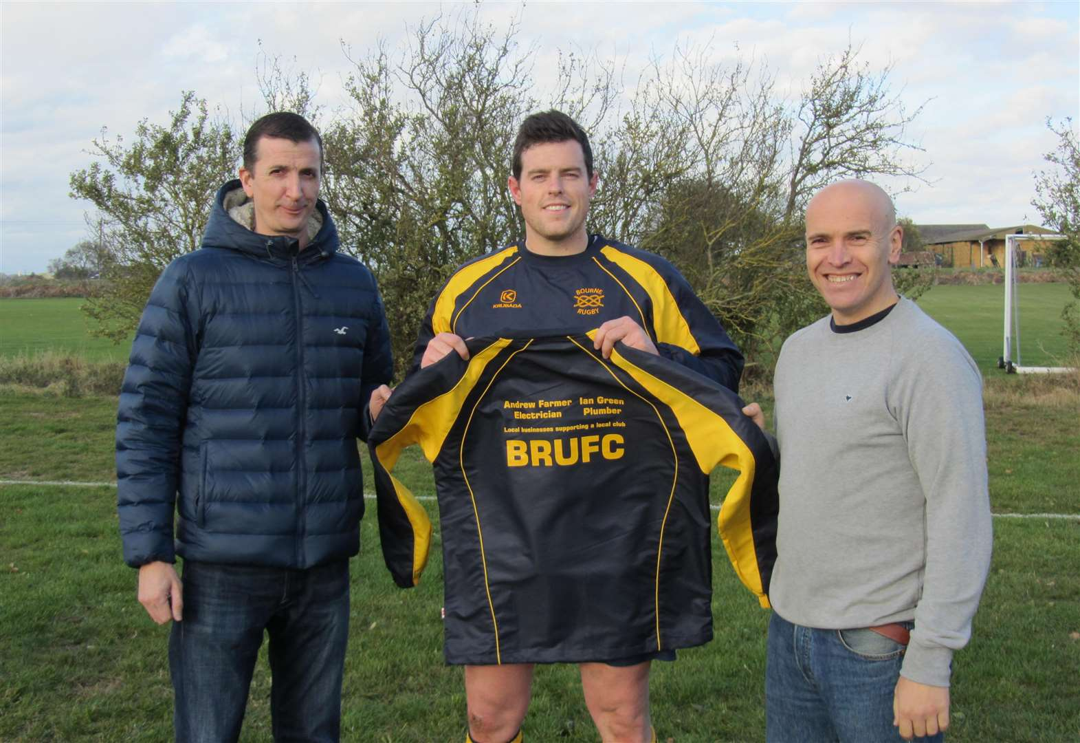 RUGBY UNION: Bourne's sponsorship boost shows the backing of town