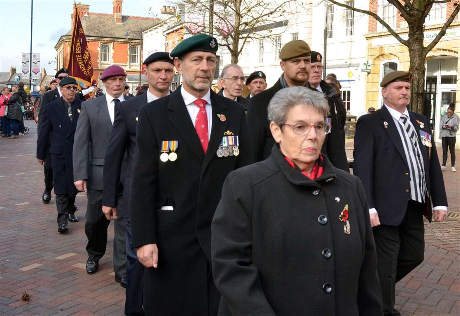 SPALDING TOWN FORUM: Helping hand for Remembrance and military parades in towns