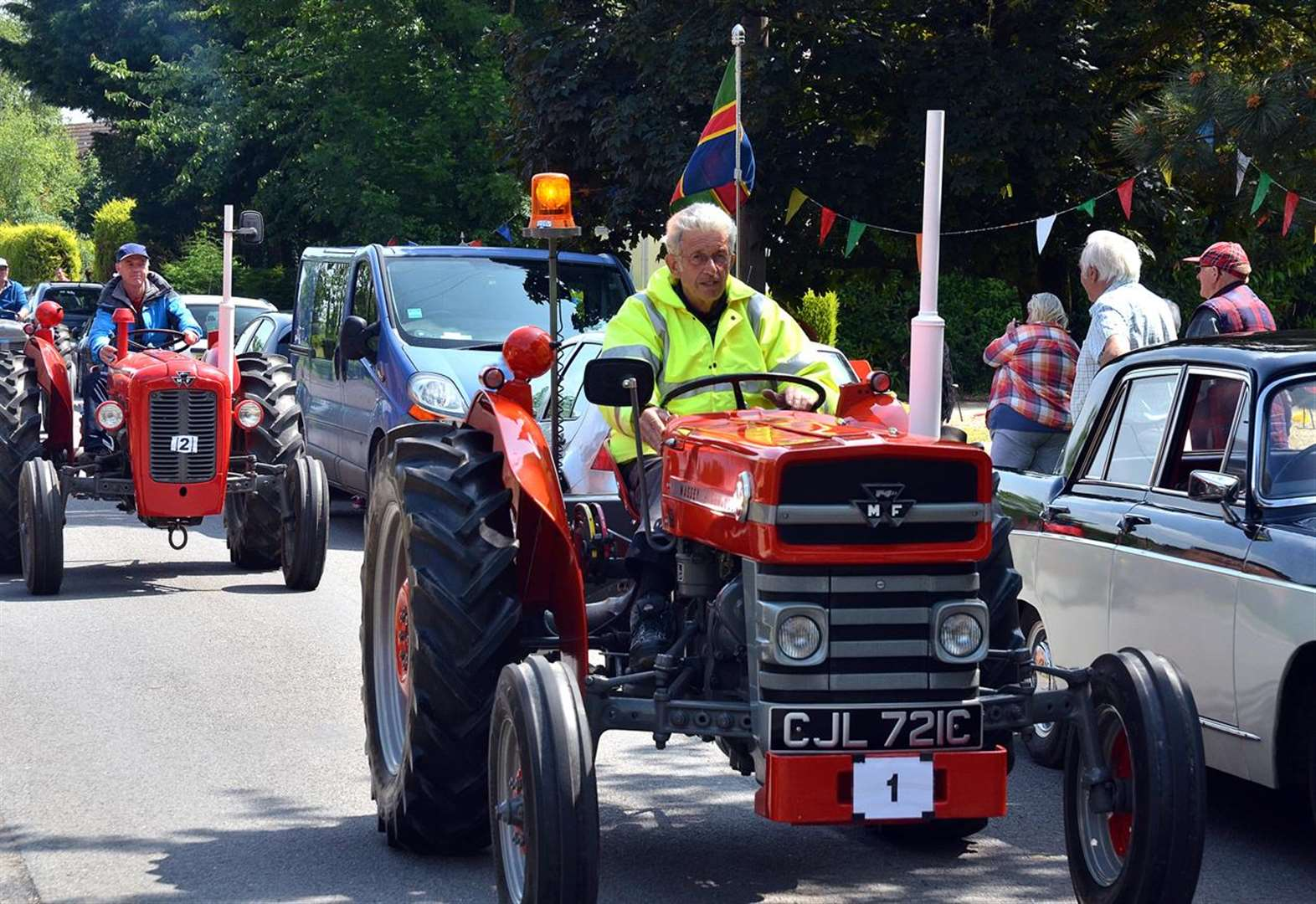 Holbeach St Johns annual tractor run gives charity a boost