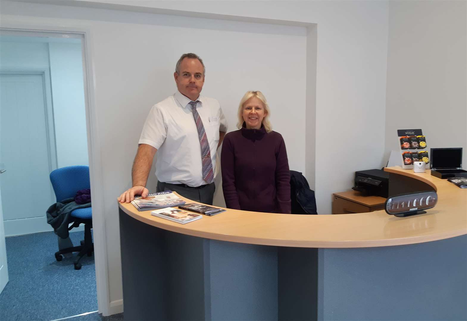 Audiologist opens up new shop in town centre