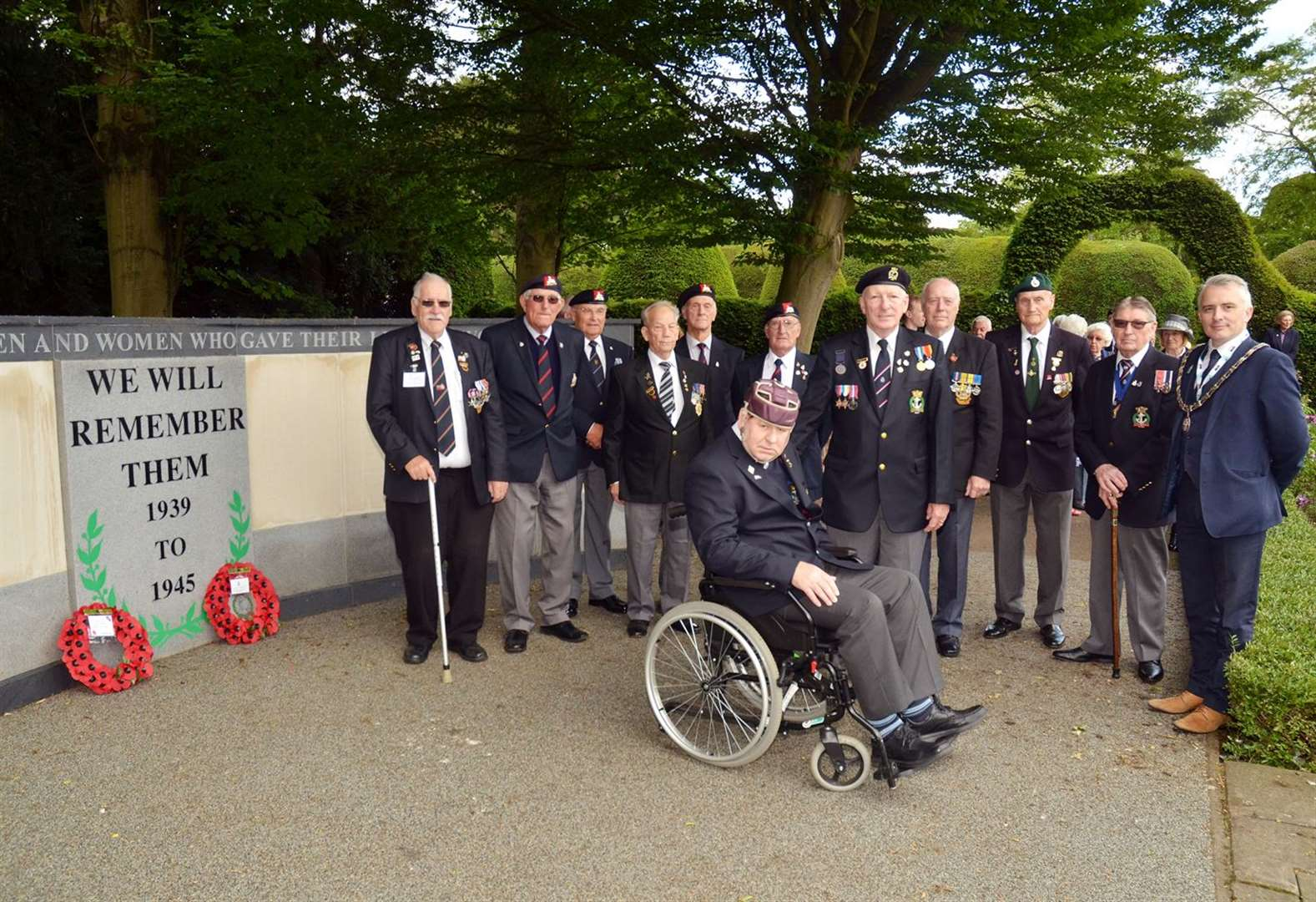 D-Day 75 in Spalding: We remember at church service and wreath laying
