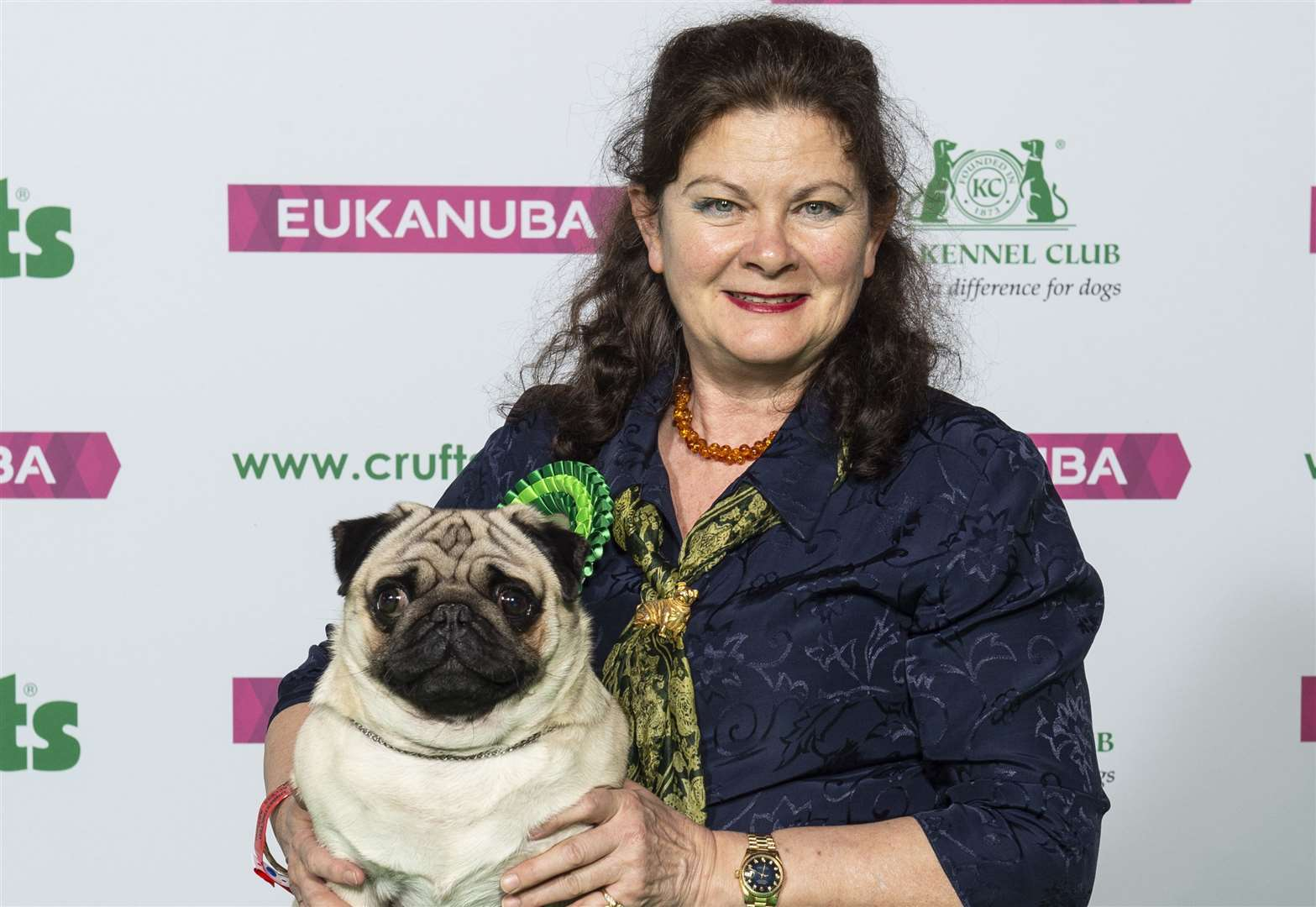 Success for South Holland dog owners at Crufts - but there was a close call for one
