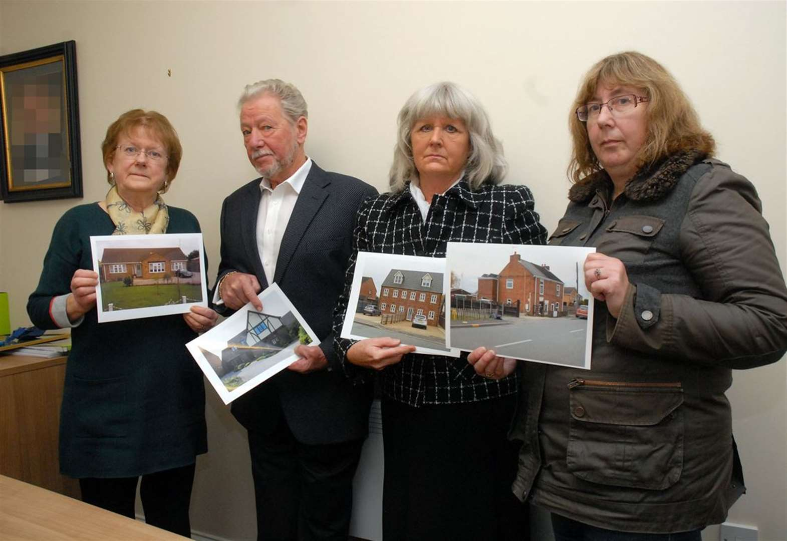 Council poised to call in the bulldozers to flatten 9 homes
