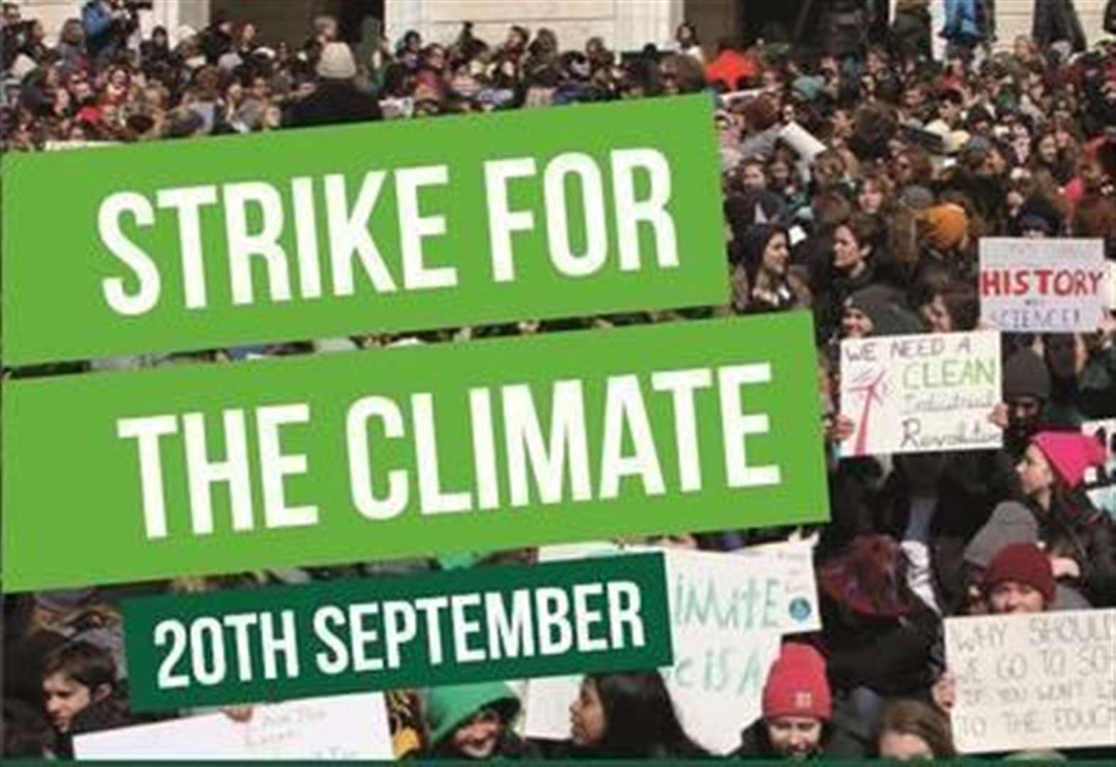 Day of action for climate change to take over town centre