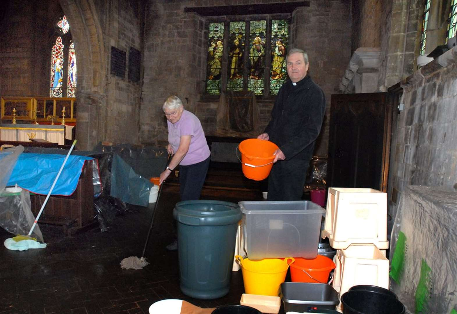 Plans to protect roof of church hit by lead thieves