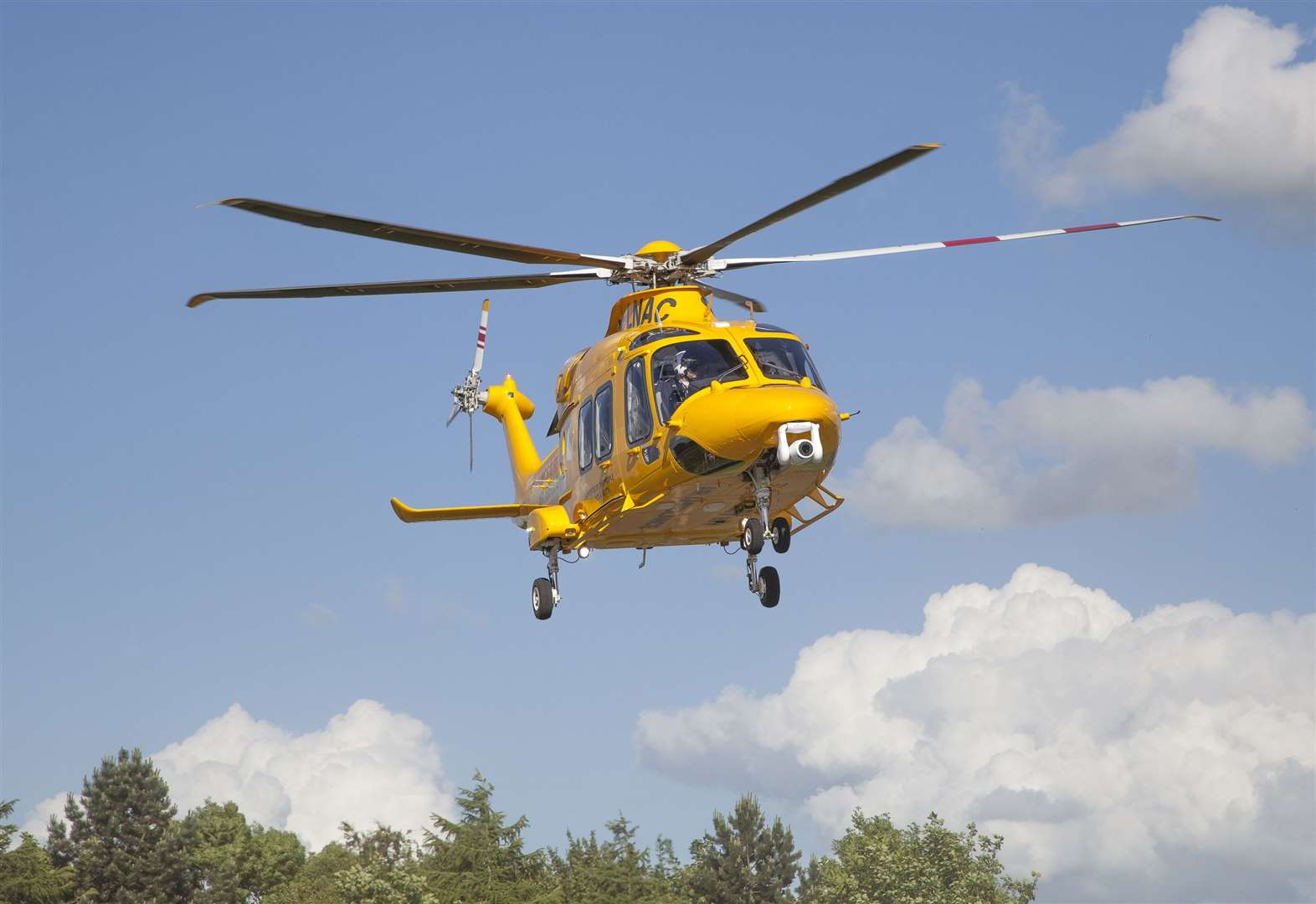 Air ambulance called to incident near village