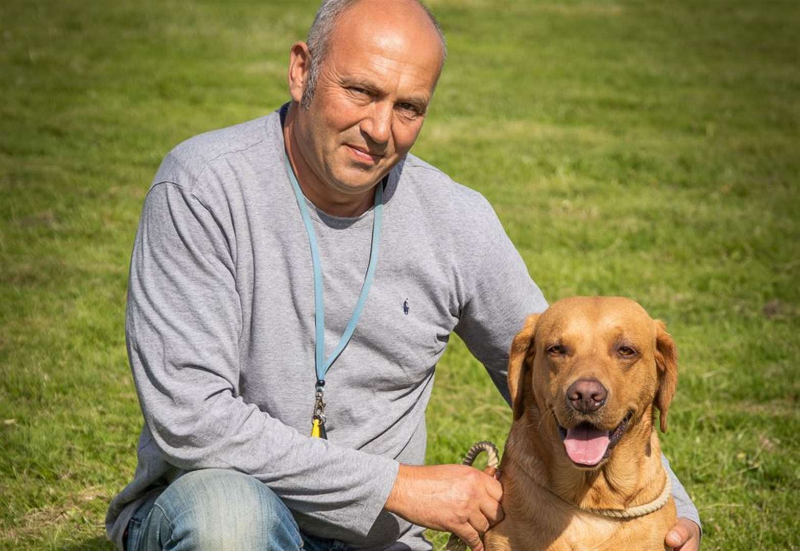 Village fete hosts charity dog show