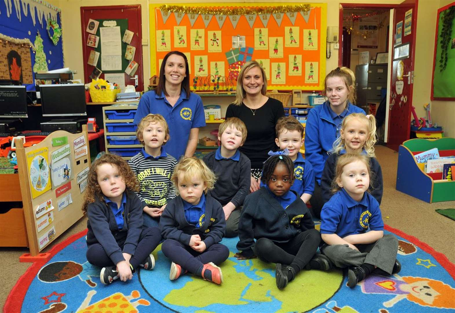 Village pre-school gets good news after inspection