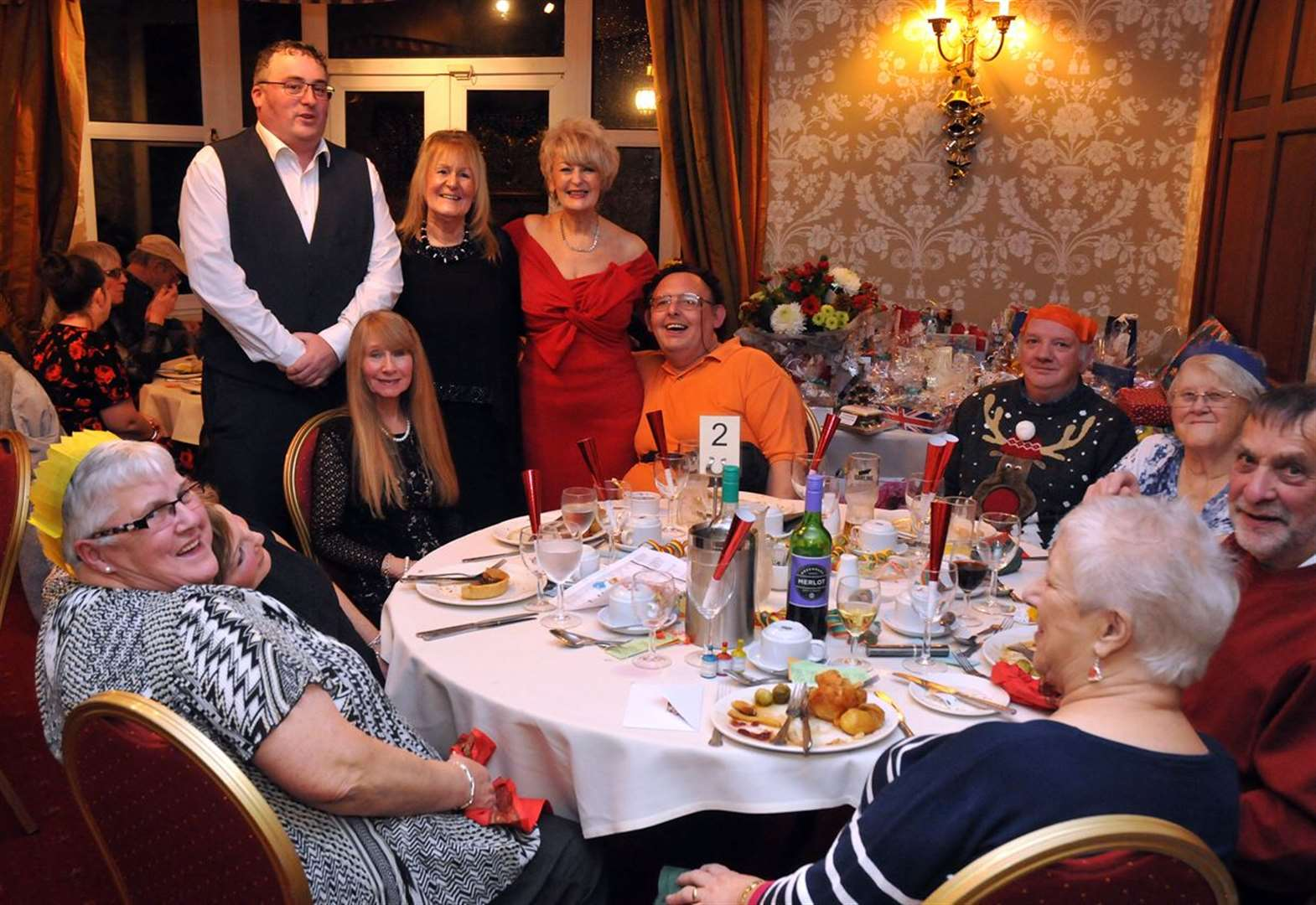 PHOTO GALLERY: Night out and hotel meal for people of St Paul's
