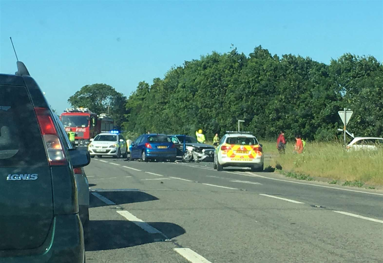 Accident at Spalding Common