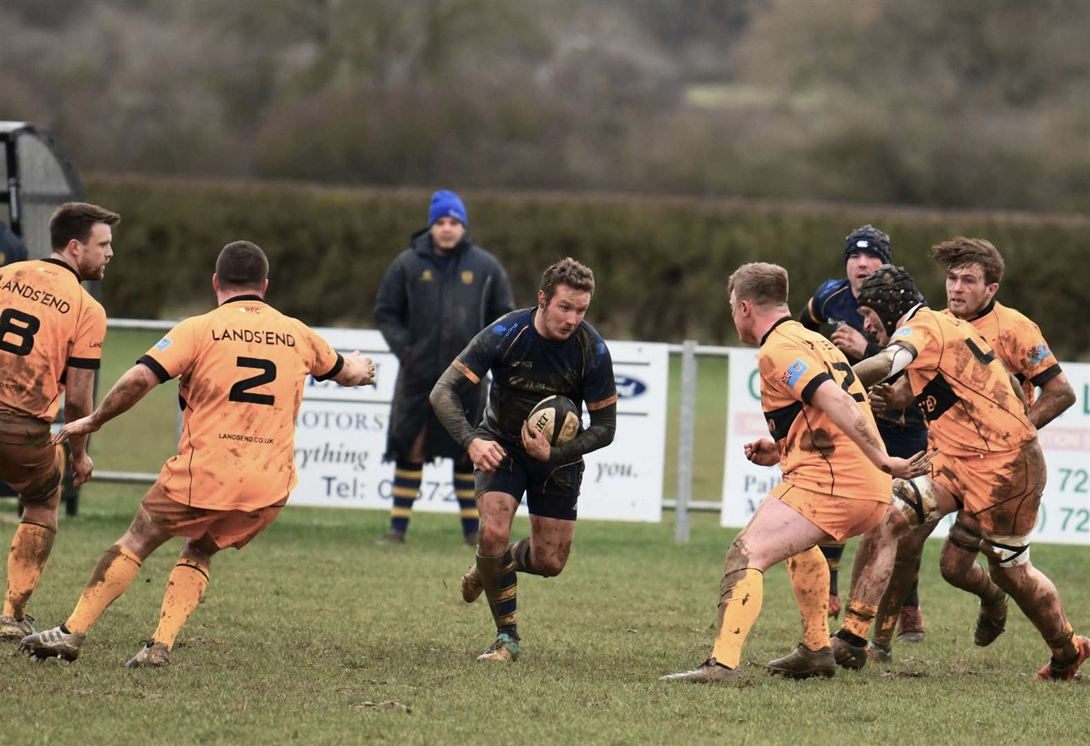 RUGBY UNION: Bourne give Oakham too much of a head start in top of the table clash
