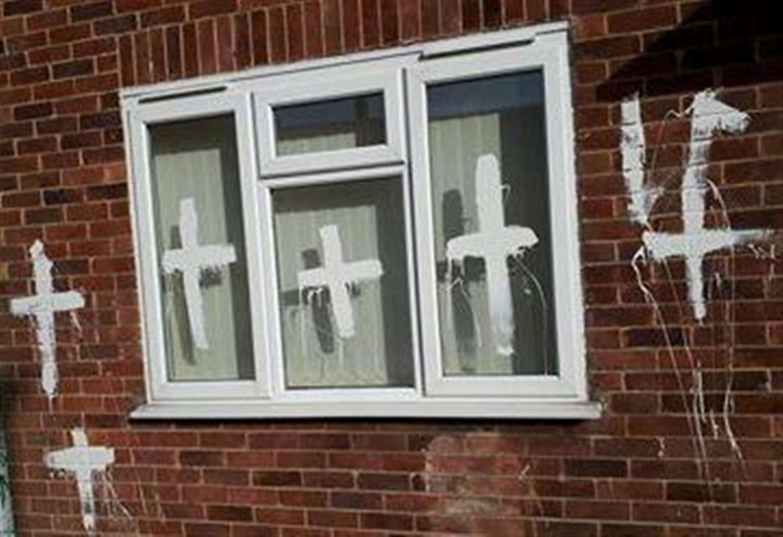 Couple 'living in fear' after Spalding home is vandalised
