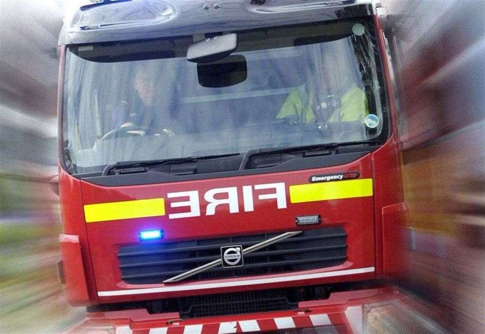 Firefighters called to car crash