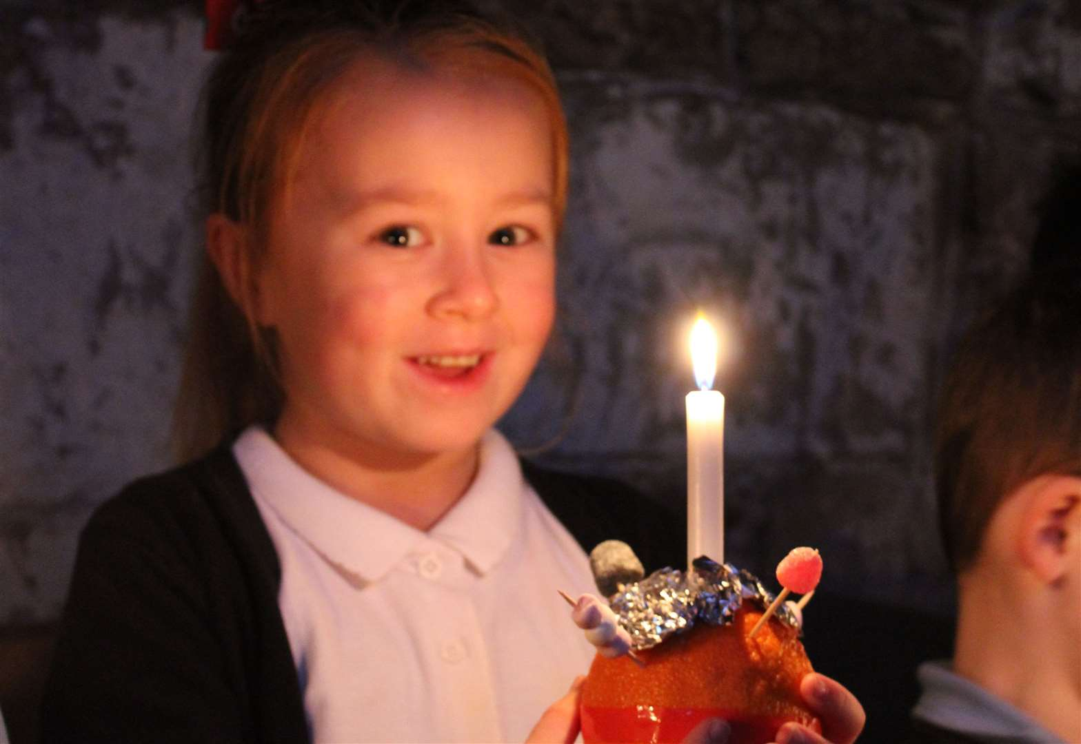 School holds its own Christingle