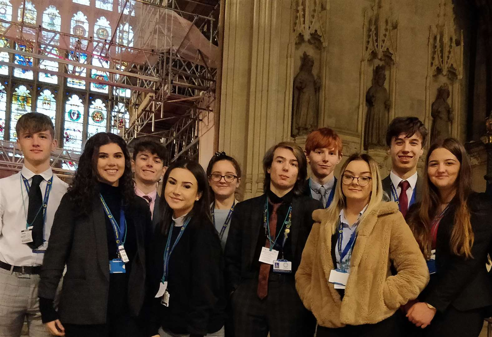 Students visit the Old Bailey