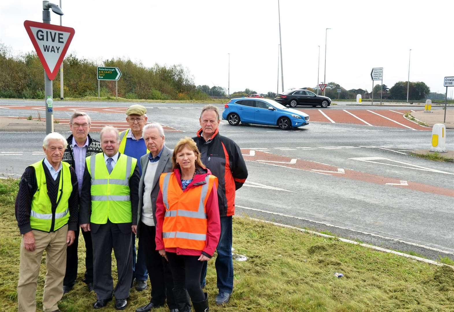 Barriers to be trialled at Crowland A16-B1166 danger junction