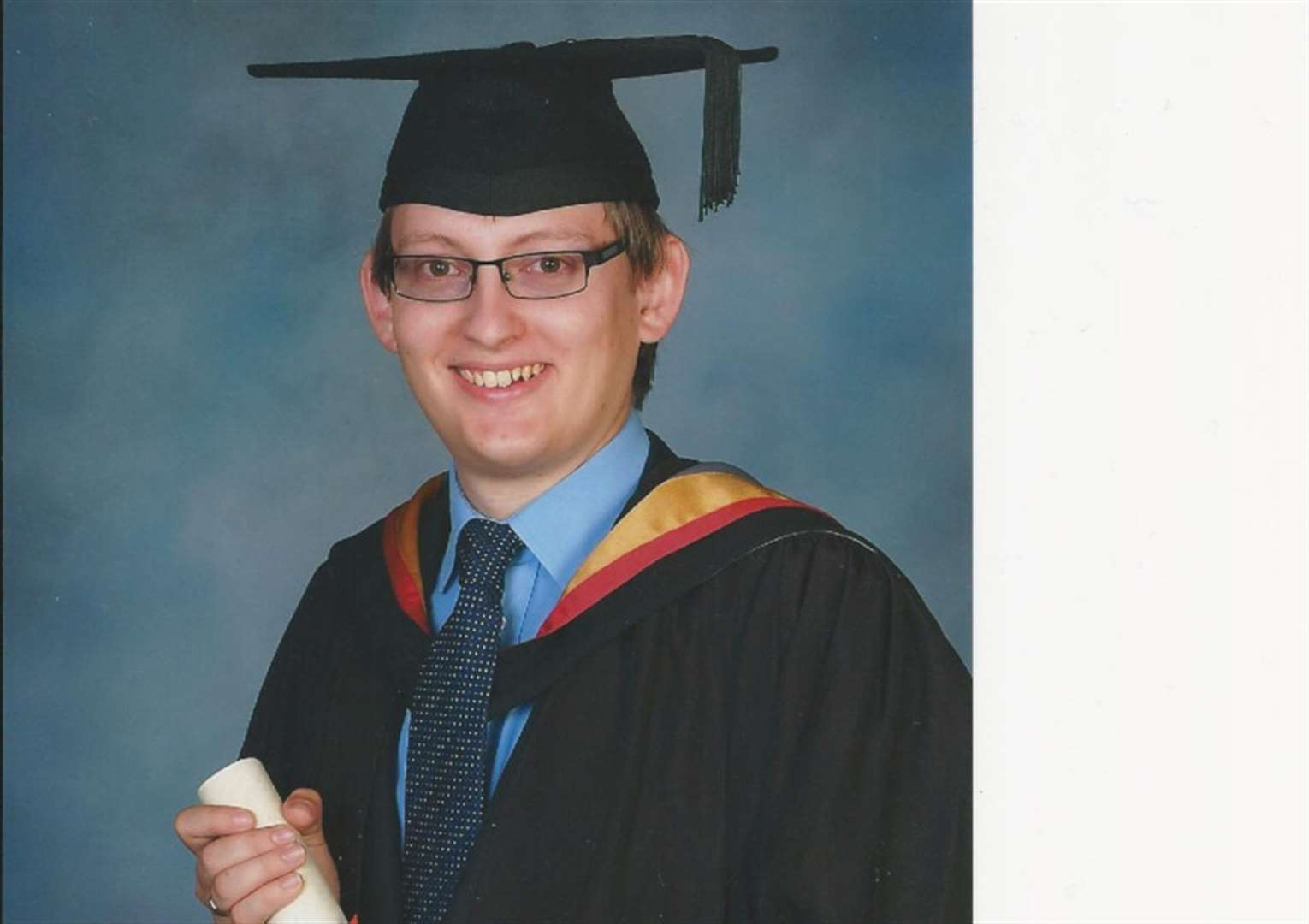 Physics degree for former Spalding Grammar student Adrian Peasey
