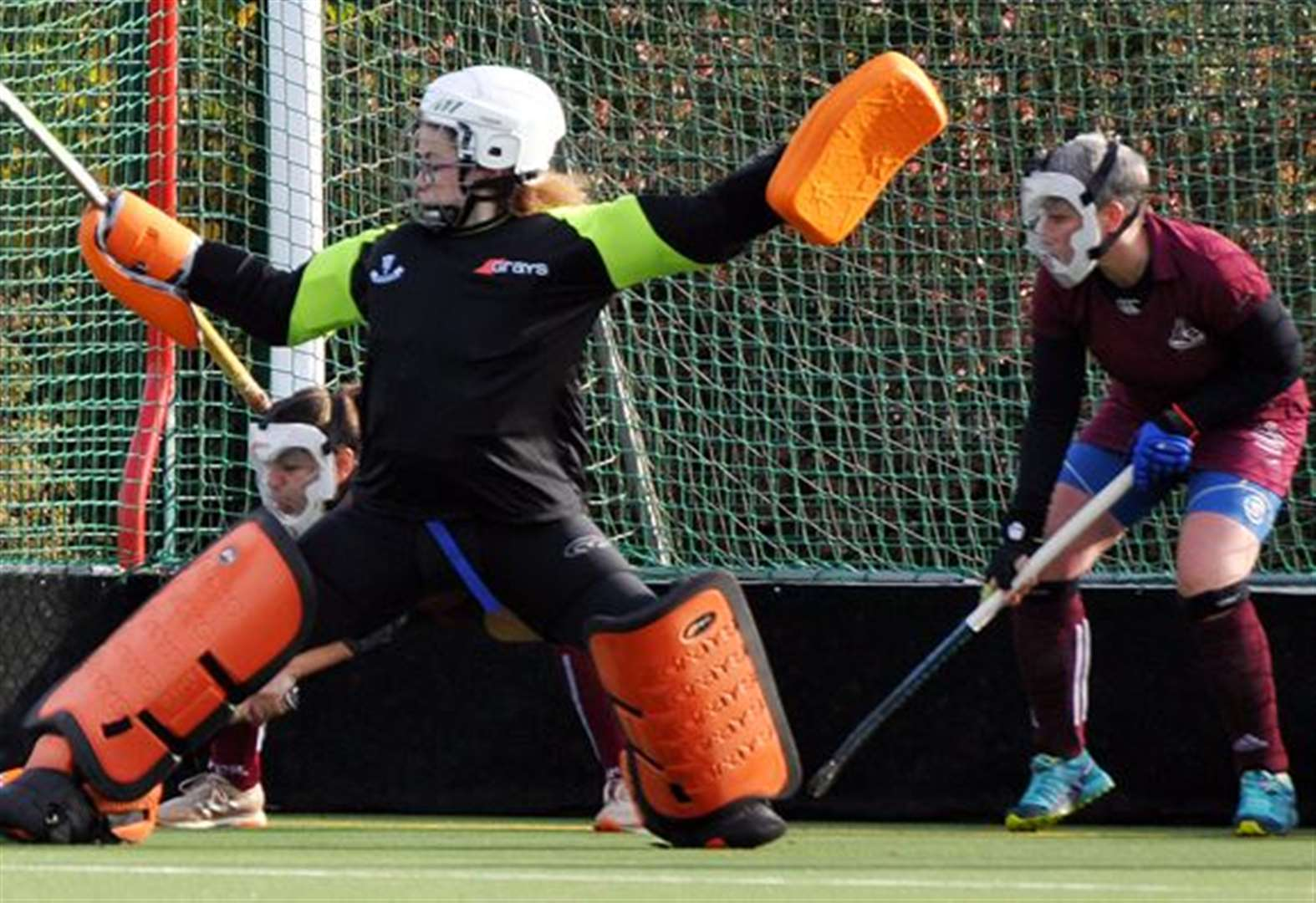 HOCKEY: Higgins leaves it late for leveller