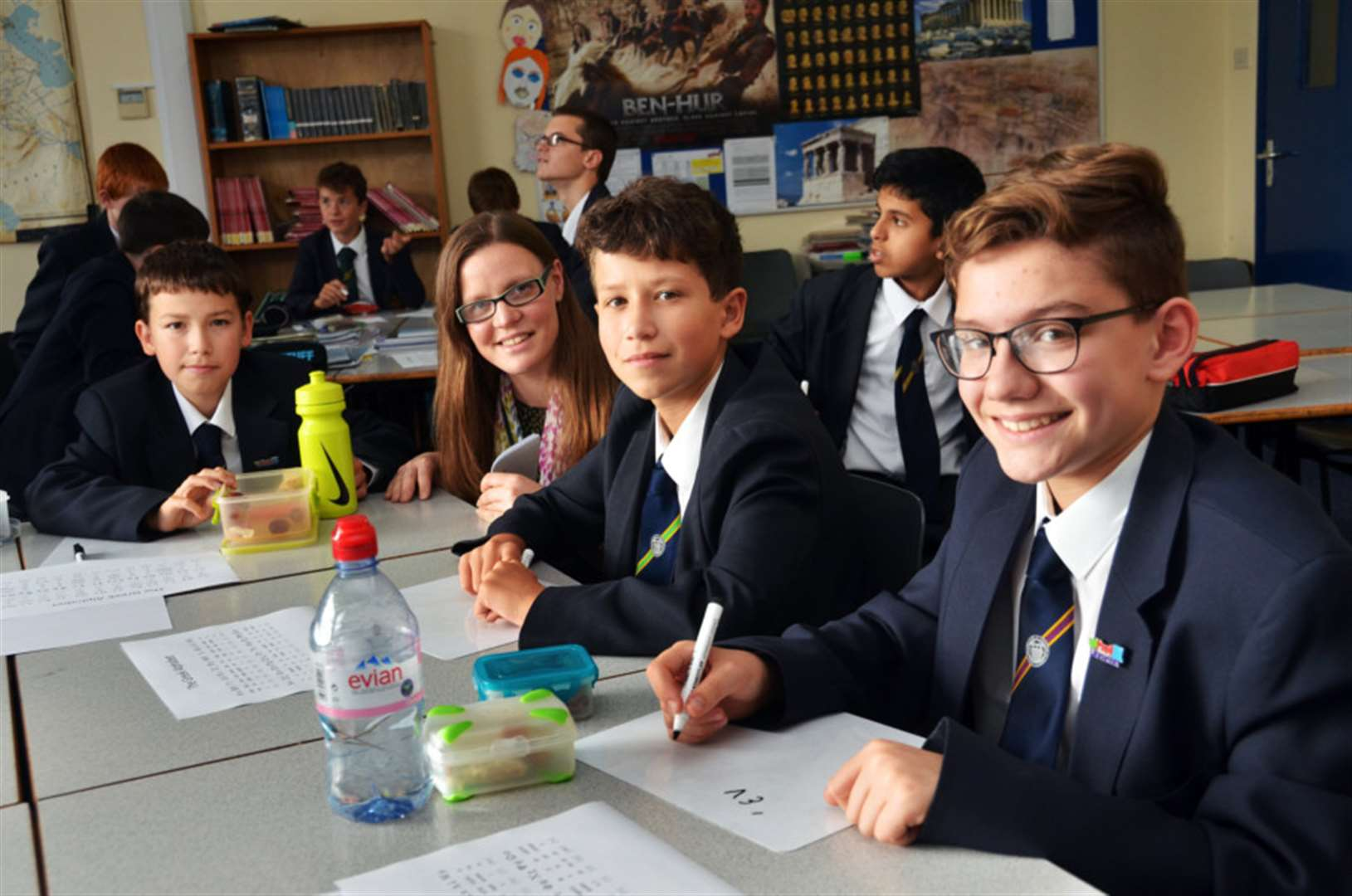 Fun with foreign languages at Spalding Grammar School