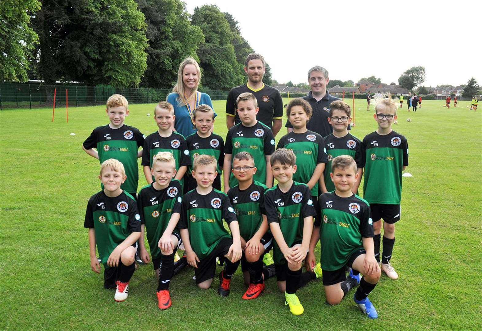 YOUTH FOOTBALL: Festival support for Holbeach team