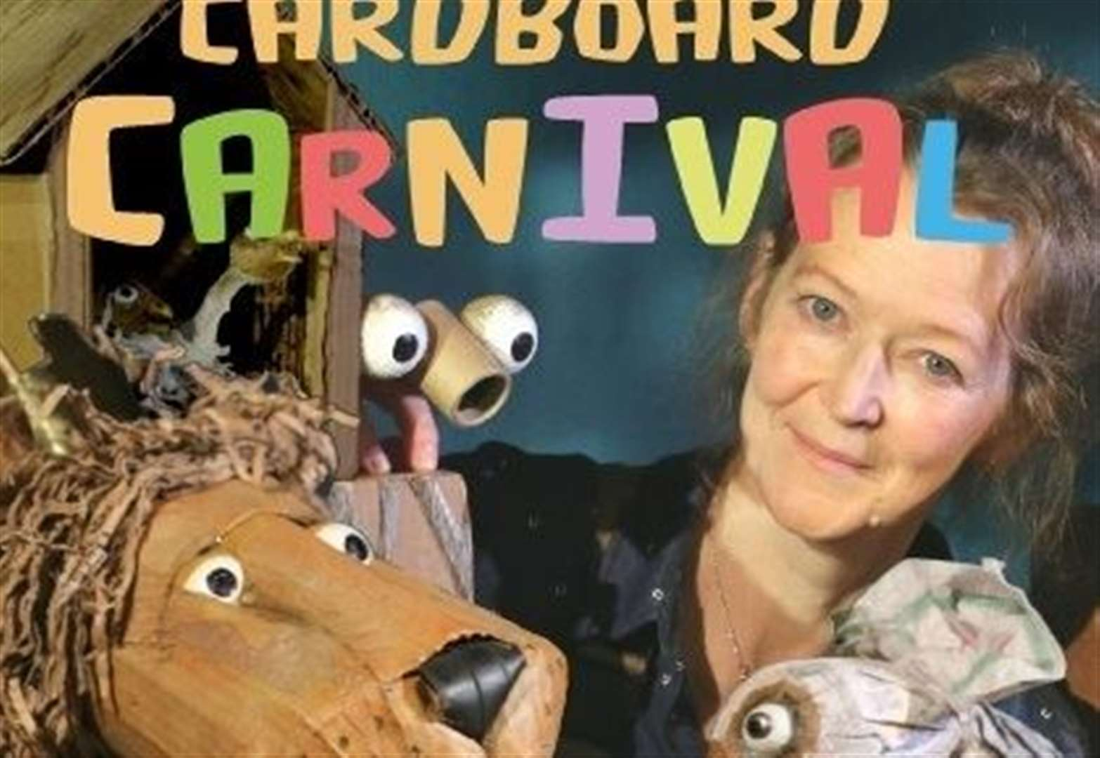 Crowland Abbey hosts a 'Cardboard Carnival' show for families this Sunday (May 11)