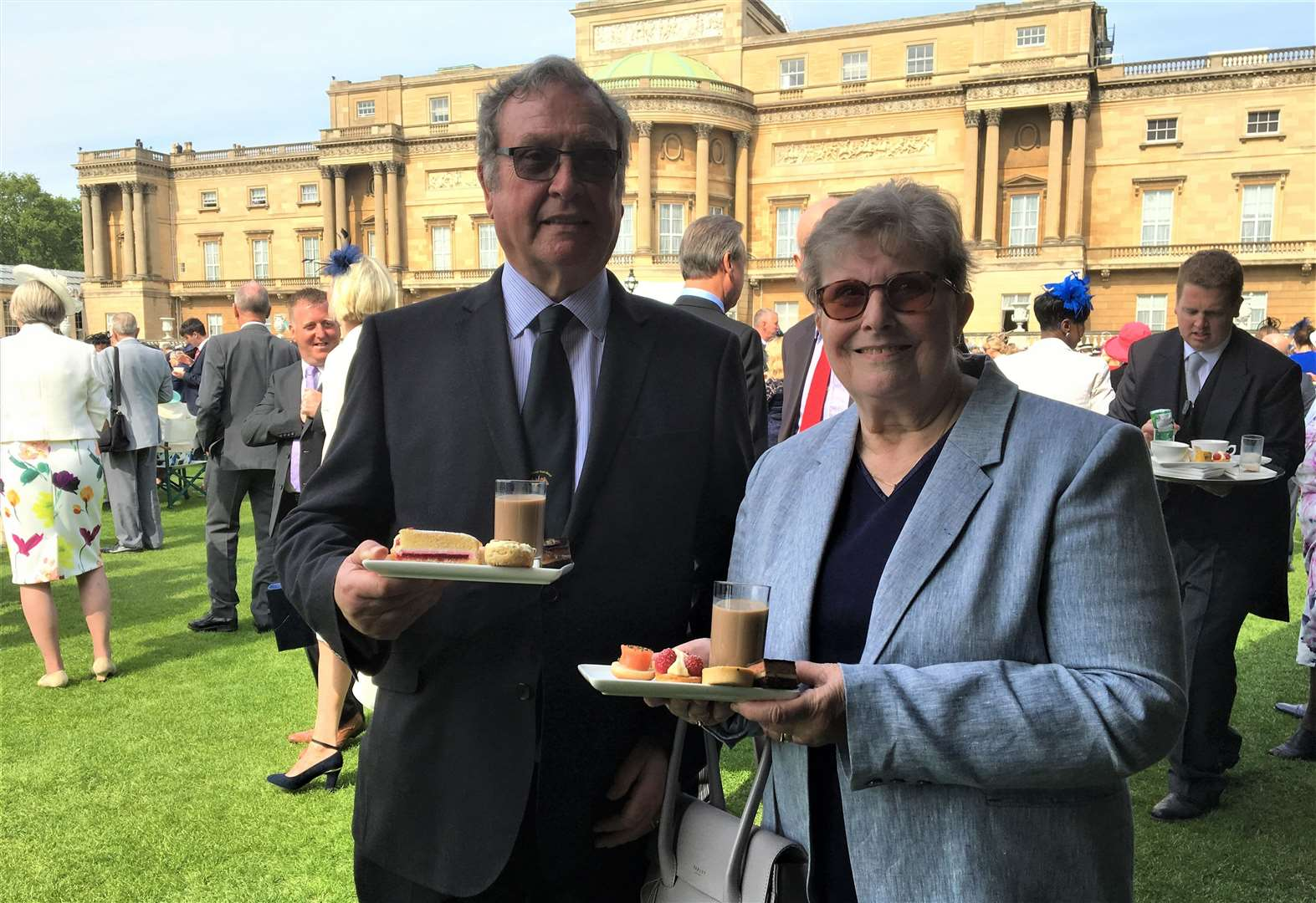 Holbeach band leader's dedication rewarded with visit to Royal Garden Party