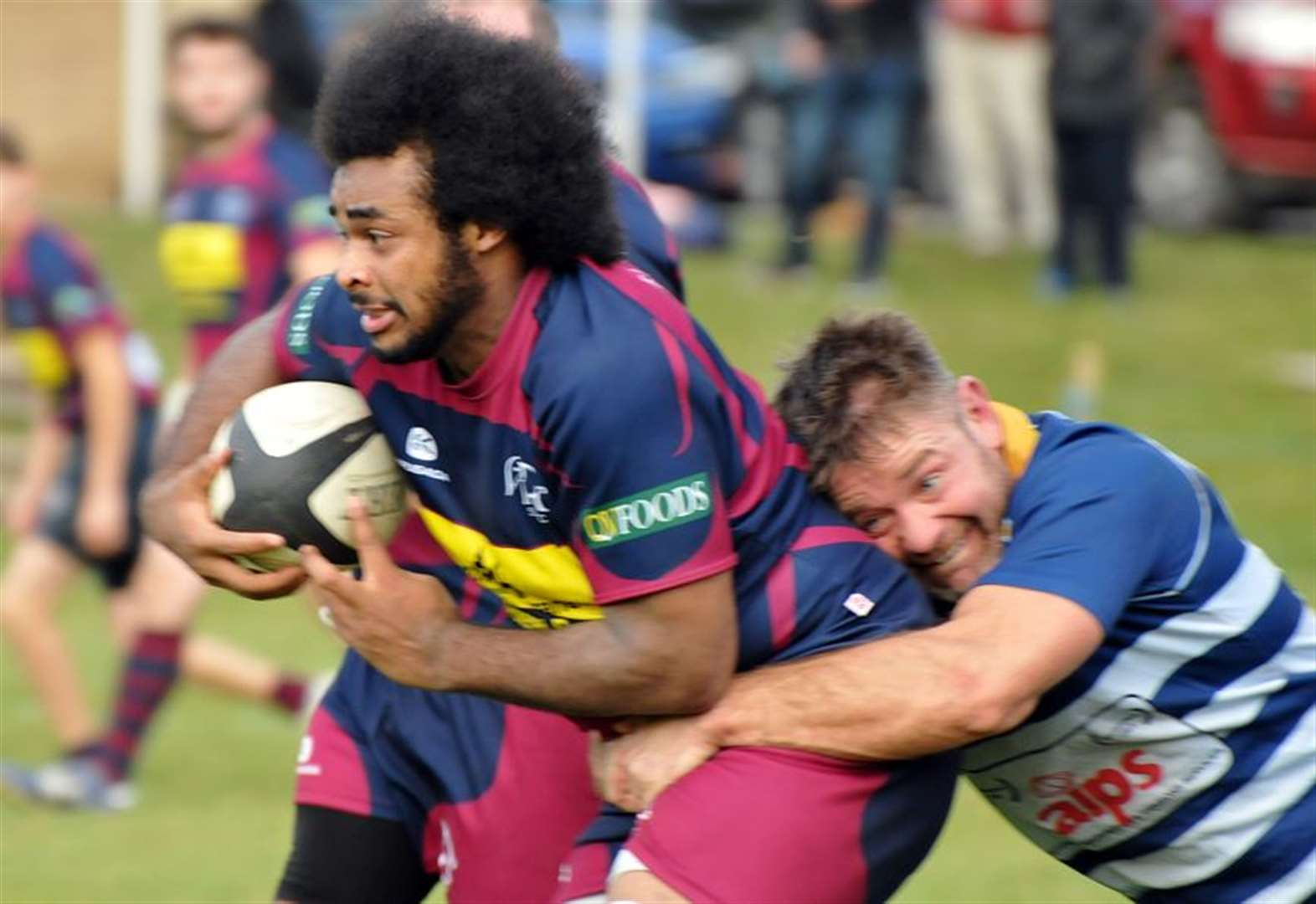 RUGBY UNION: Heroic Town topple leaders with brilliant win