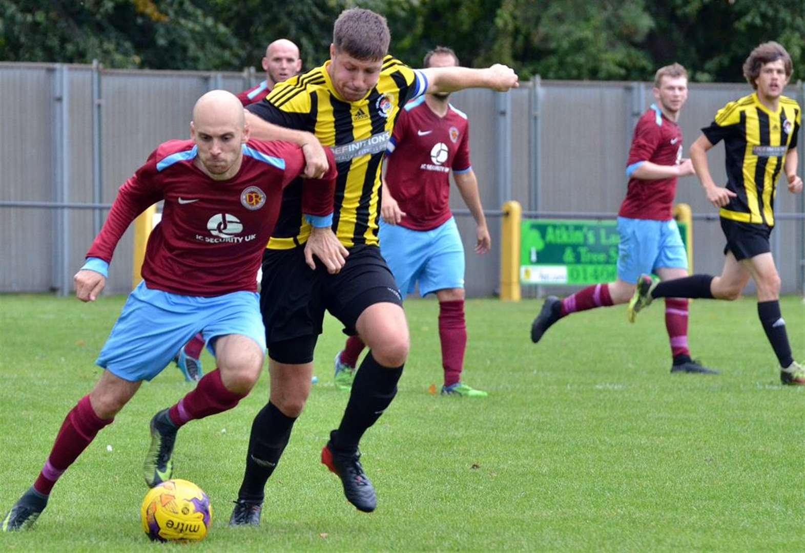 FOOTBALL: Rivals set for derby semi-final
