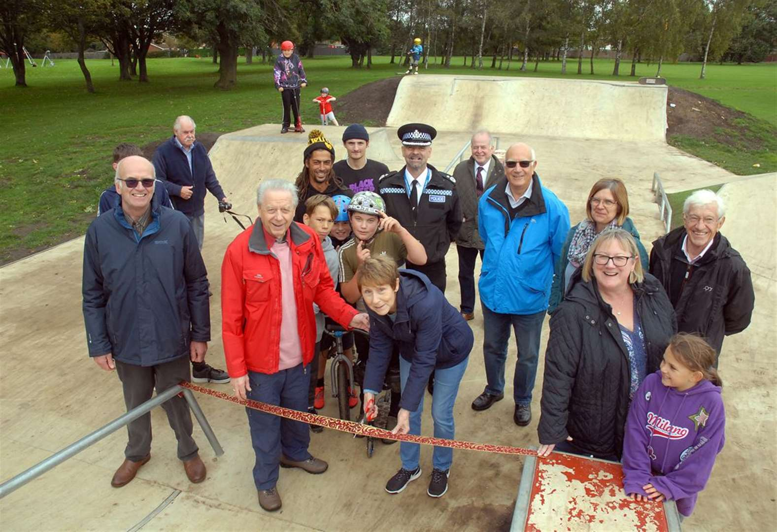 New Crowland skate park officially opens