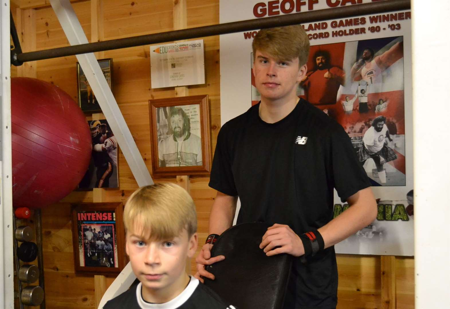 ATHLETICS FEATURE: A good year for the Capes brothers