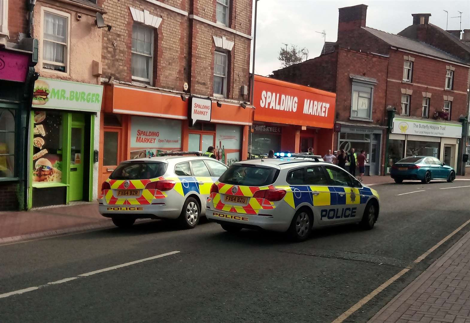UPDATE FRIDAY 3.55PM: Police link five assaults with police officer attack in Spalding