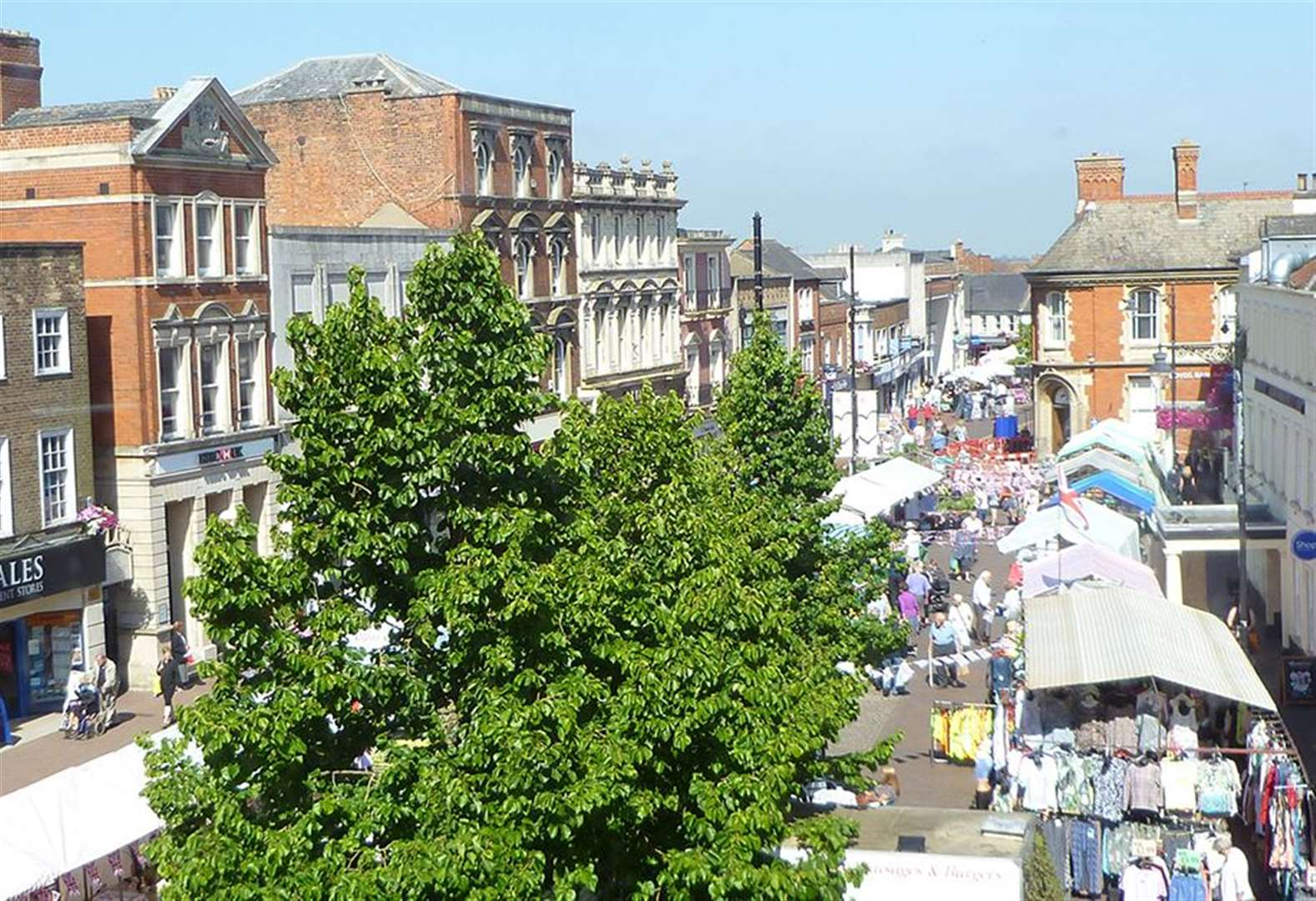 Plans to regenerate two town centres