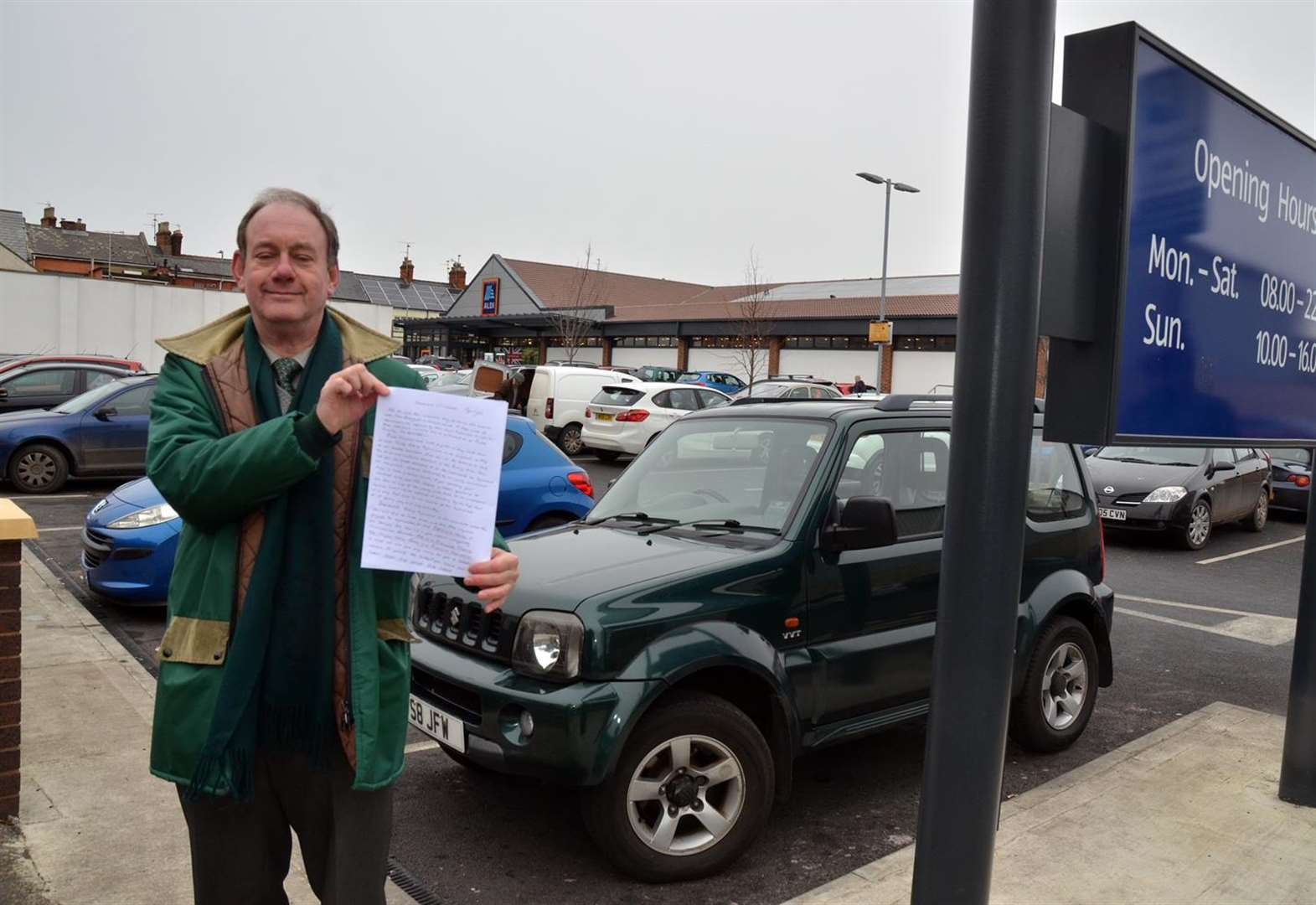 'Fight your corner on parking fines or pay very high price', Spalding driver warns