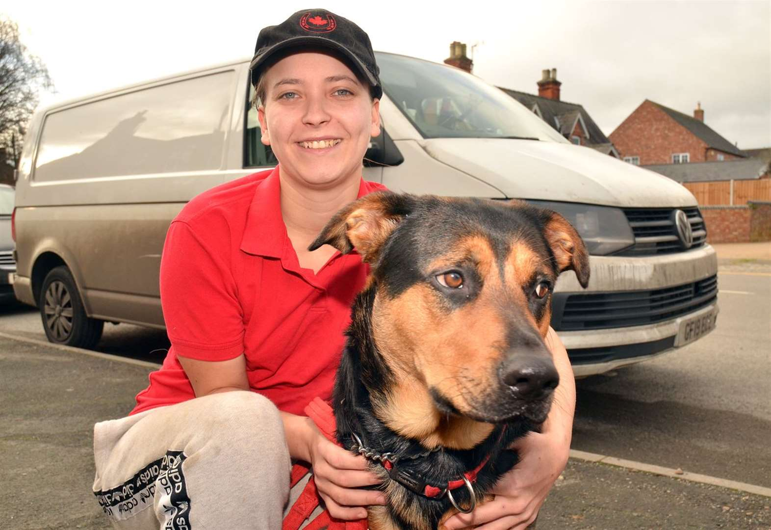 Heroic dog saves owner from van theft