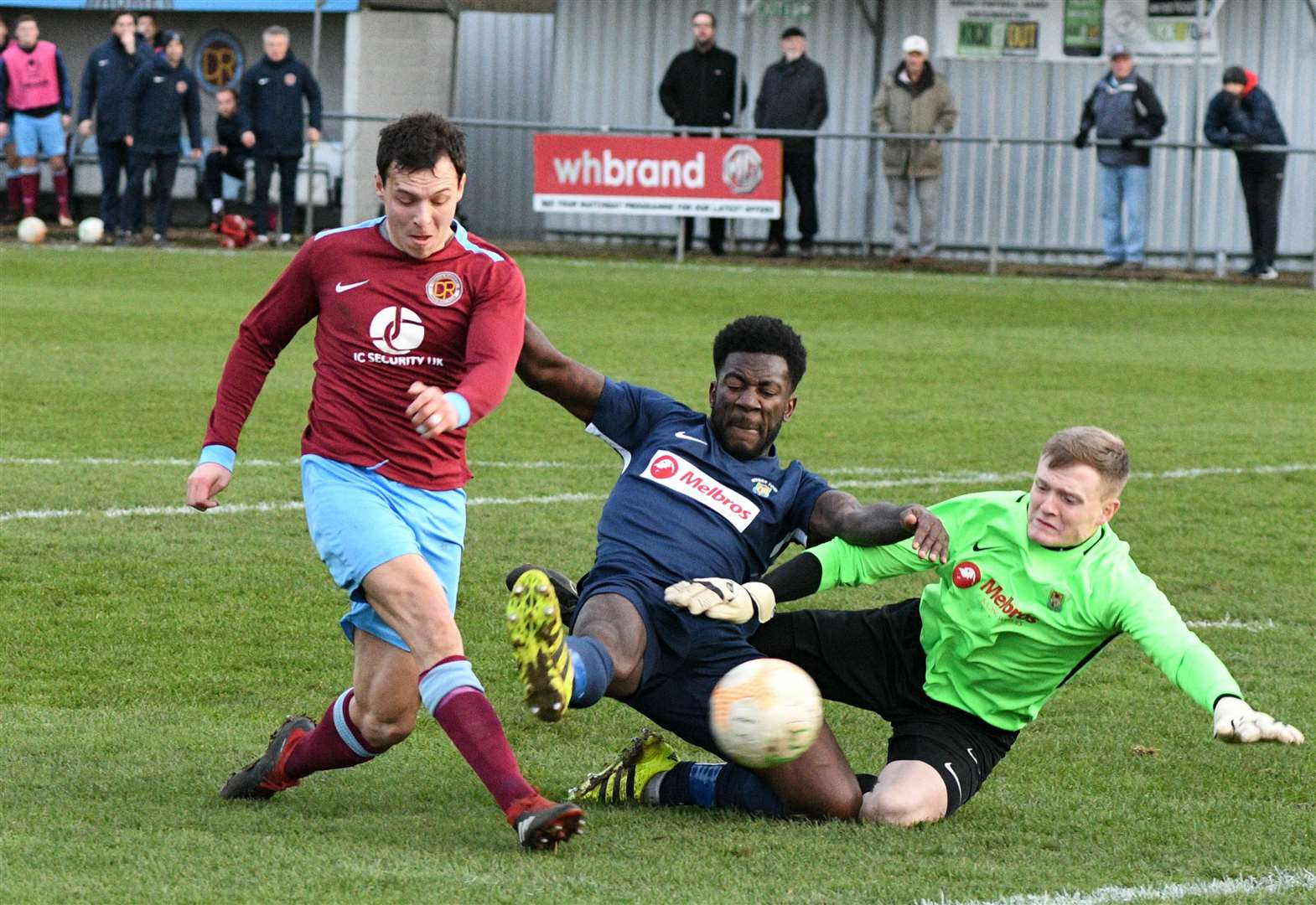 MATCH REPORT AND PHOTO GALLERY: Garrick's hat-trick rewards Clarets' character