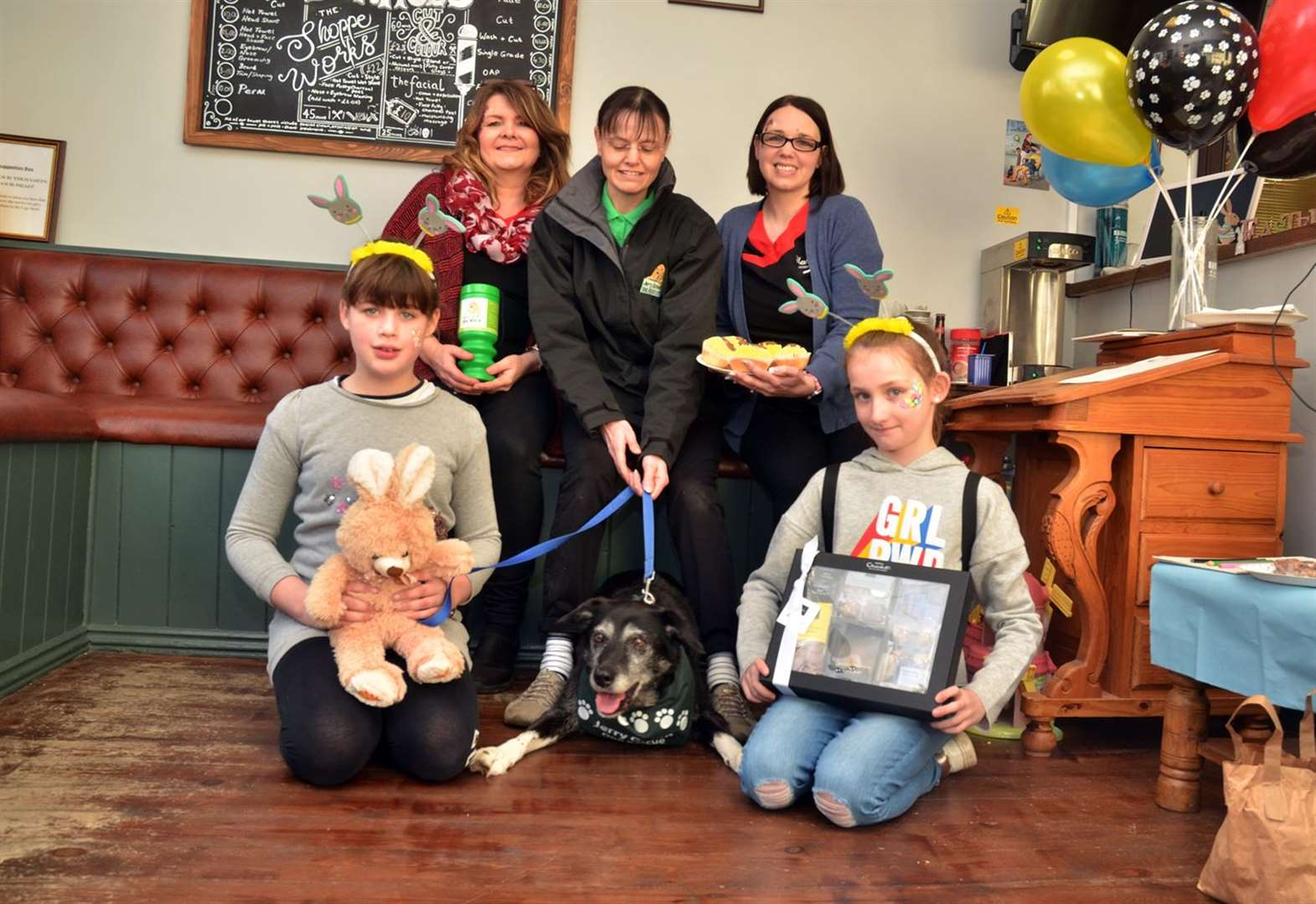 Holbeach barber shop is 'doing it for the dogs' with fundraiser