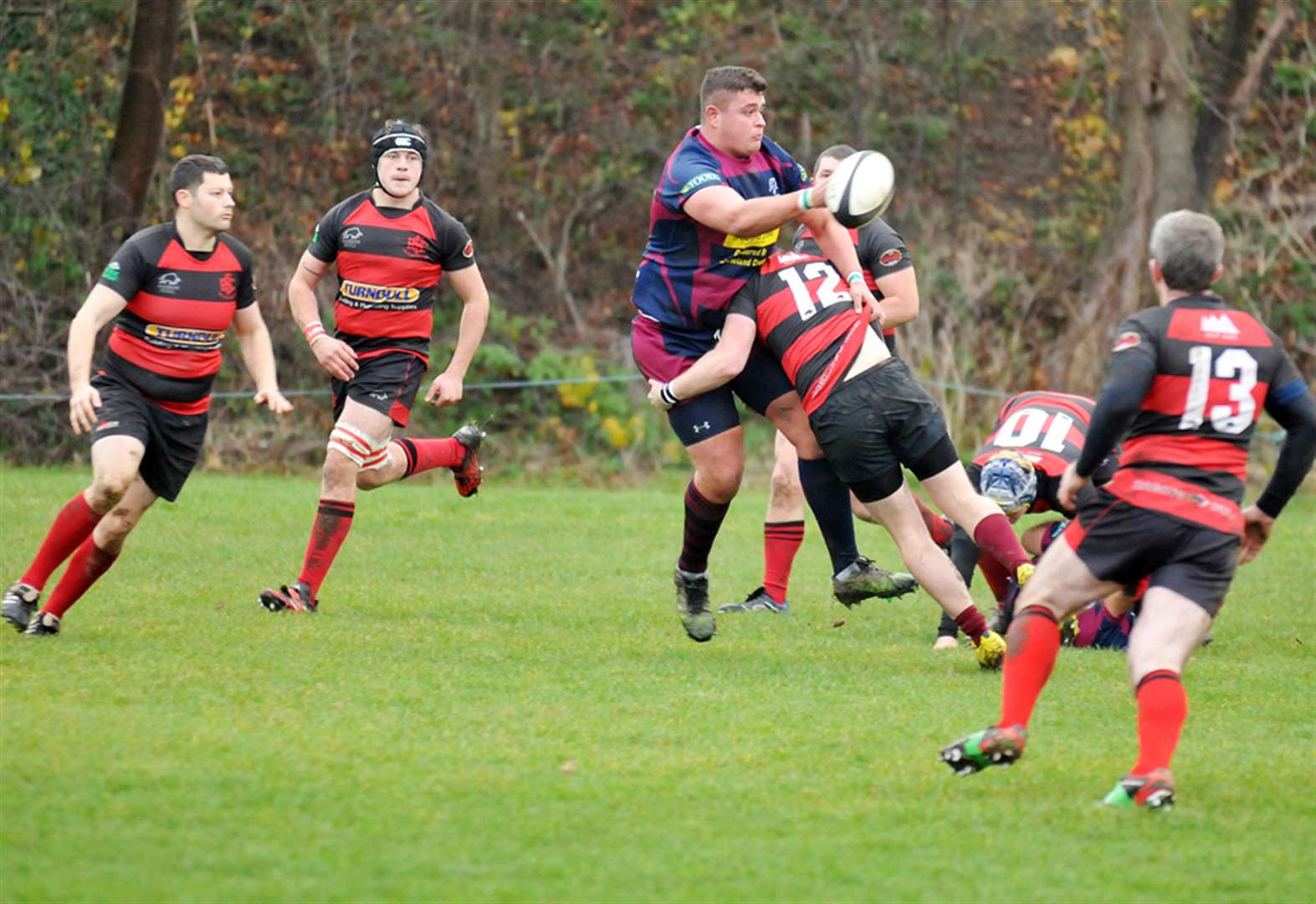 RUGBY: Spalding keep up fine home form to defeat local rivals