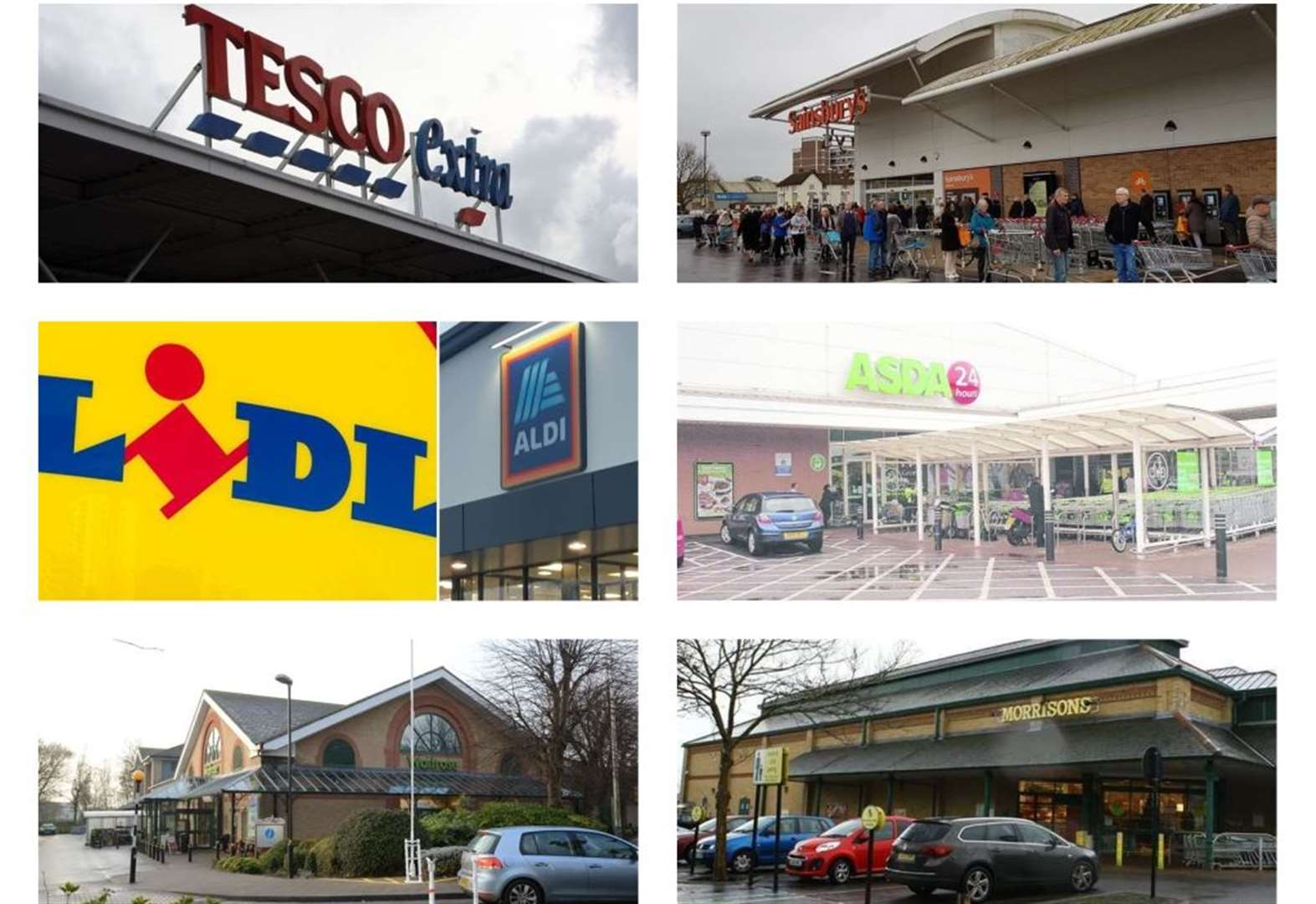 This is every supermarket and when they are open for NHS staff, elderly and vulnerable