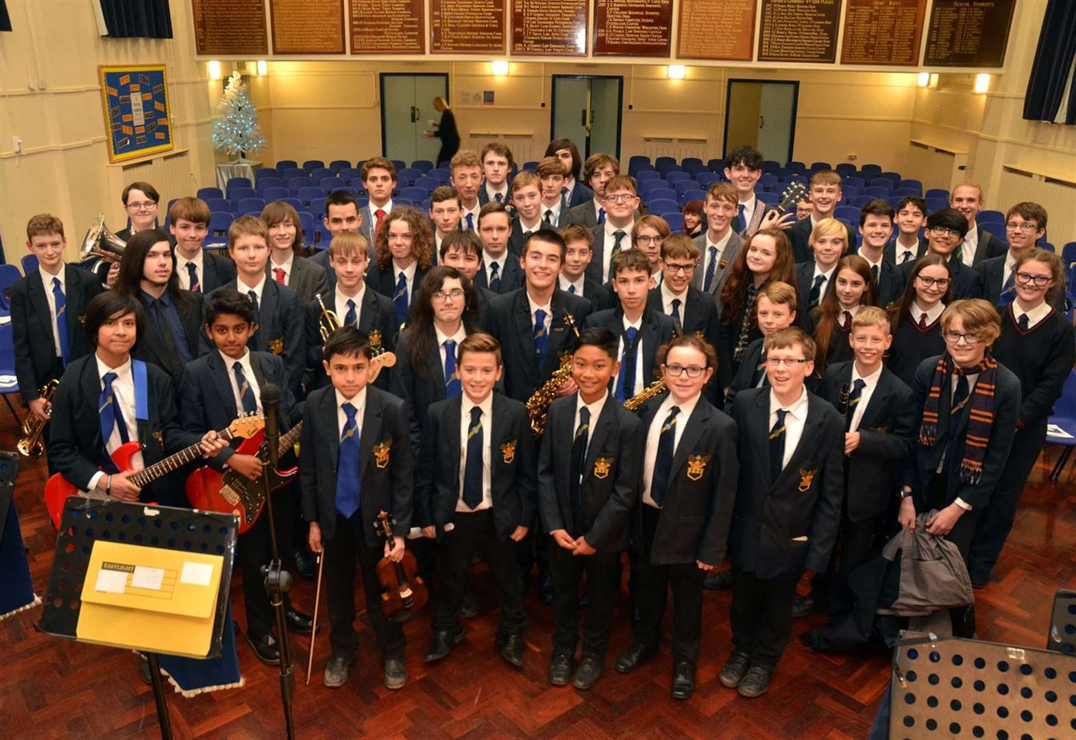 Rock meets the classic and carols in school concert